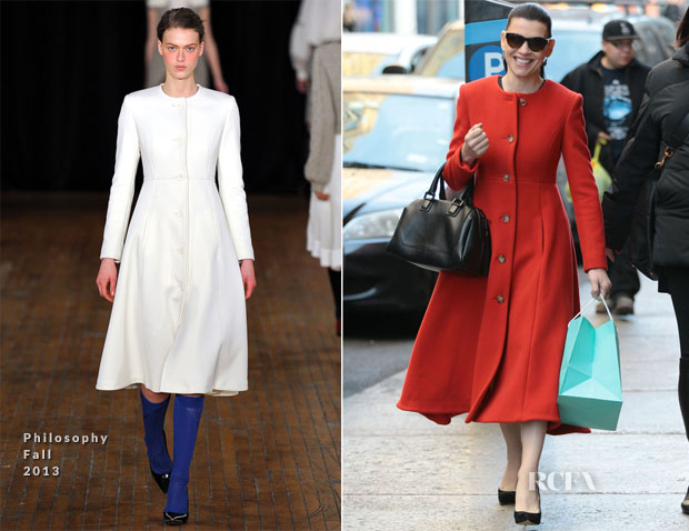 Julianna Margulies In Philosophy - Shopping at Tiffany & Co