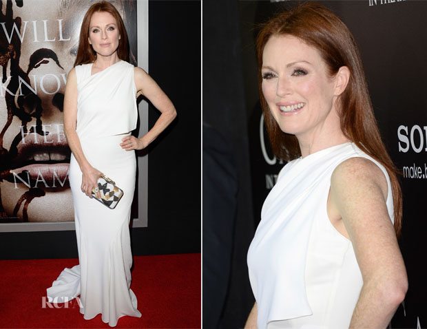 Julianne Moore In Givenchy - 'Carrie' LA Premiere