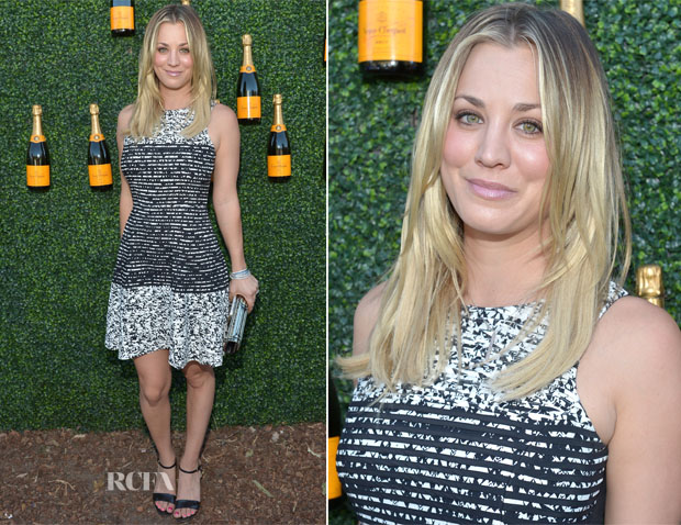 Kaley Cuoco In Parker - 2013 Veuve Clicquot Polo Classic