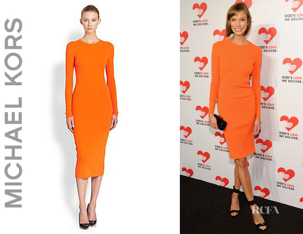 Karlie Kloss' Michael Kors Merino Wool Crewneck Dress