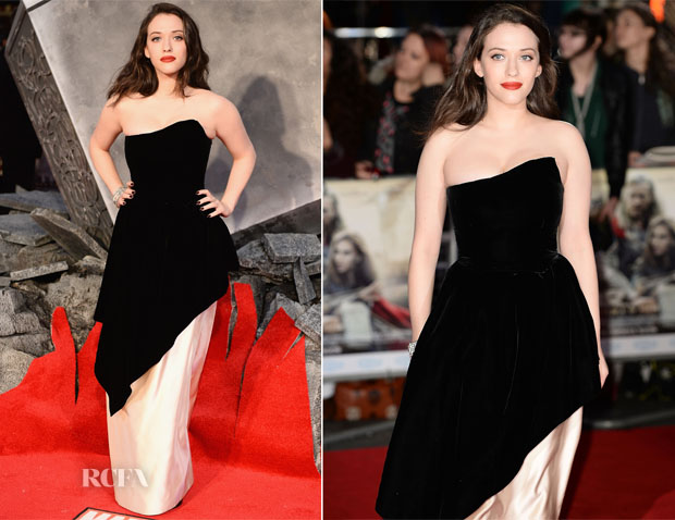 Kat Dennings In Vintage Lanvin - 'Thor The Dark World' World Premiere