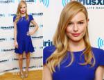 Kate Bosworth In Alexander McQueen - SiriusXM Studios