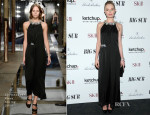 Kate Bosworth In Christopher Kane - 'Big Sur' New York Premiere