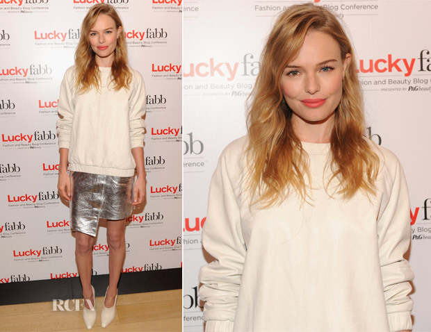 Kate Bosworth In Topshop - Lucky Magazine's Two-Day East Coast FABB Fashion and Beauty Blog Conference