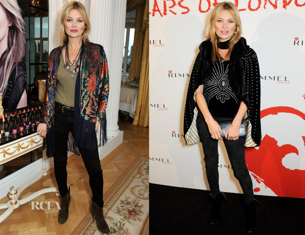 Kate Moss - Rimmel London '180 Years Of Cool' Photocall & Party