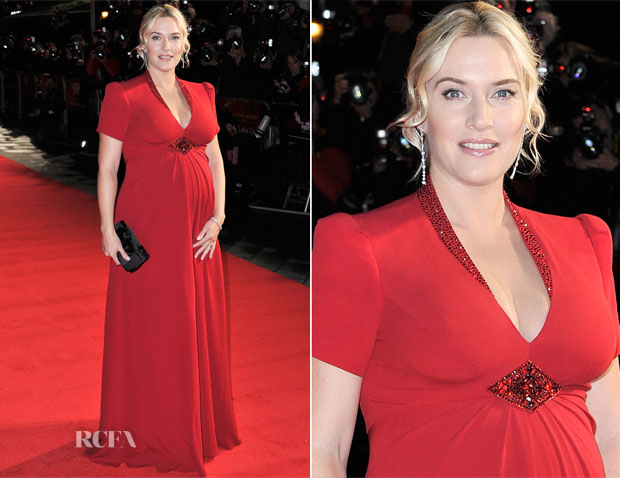 Kate Winslet In Jenny Packham - 'Labor Day' London Film Festival Premiere