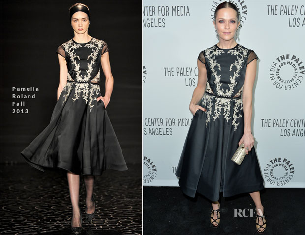 Katie Aselton In Pamella Roland - The Paley Center for Media's 2013 Benefit Gala Honouring FX Networks