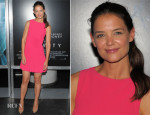 Katie Holmes In Azzedine Alaia - 'Gravity' New York Premiere