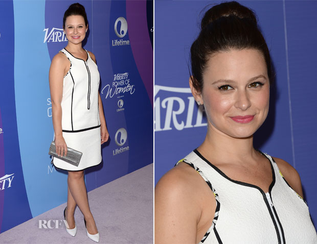 Katie Lowes In Sportmax - Variety's 5th Annual Power of Women Event
