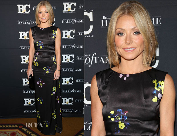 Kelly Ripa In Erdem -  Broadcasting and Cable 23rd annual Hall of Fame Awards Dinner