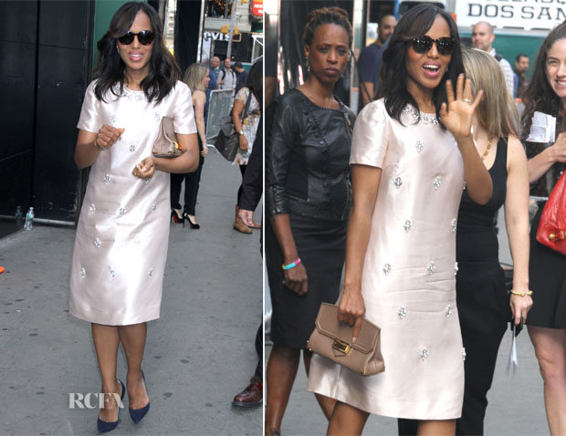 Kerry Washington In Tory Burch - Good Morning America