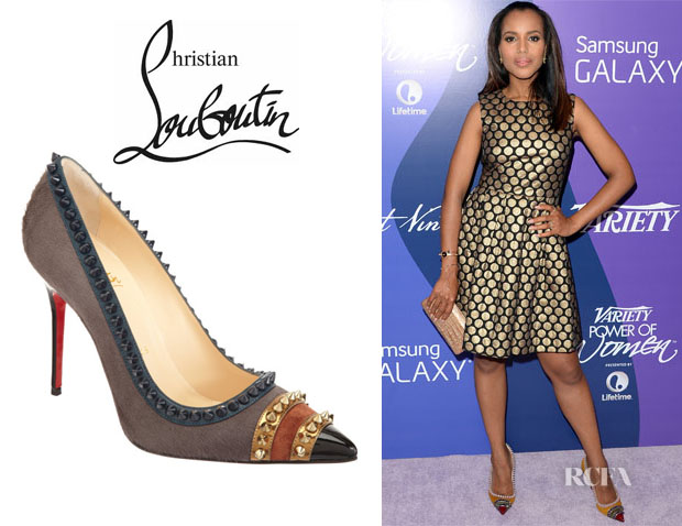 Kerry Washington's Christian Louboutin 'Malabar Hill' Pumps