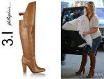 Kim Kardashian's 3.1 Phillip Lim Leather Over-The-Knee Boots