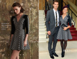 Andy Murray In Buberry Tailoring & Kim Sears In Matthew Williamson - Investiture Ceremony