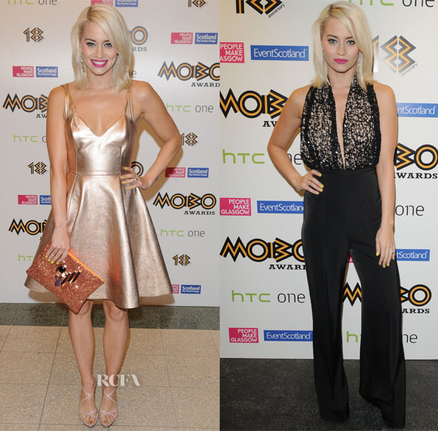 Kimberly Wyatt In Felder Felder & AQ AQ - 2013 MOBO Awards