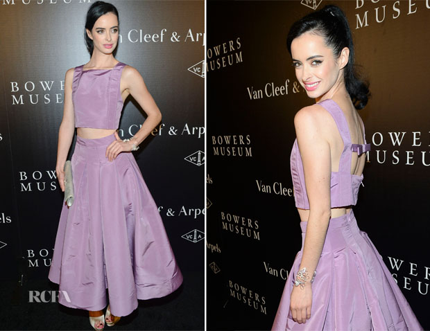 Krysten Ritter In Katie Ermilio - A Quest for Beauty The Art Of Van Cleef & Arpels