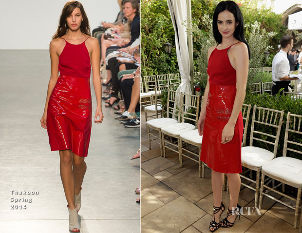 Krysten Ritter In Thakoon - CFDA Vogue Fashion Fund Event