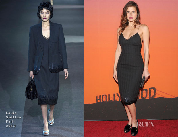 Lake Bell In Louis Vuitton - CFDA Vogue Fashion Fund Event