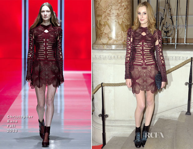 Laura Carmichael In Christopher Kane - Scottish Fashion Awards 2013