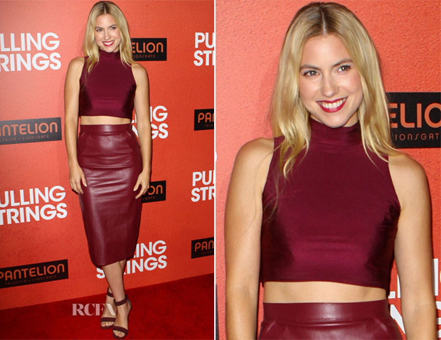 Laura Ramsey In  Missguided - 'Pulling Strings' LA Premiere