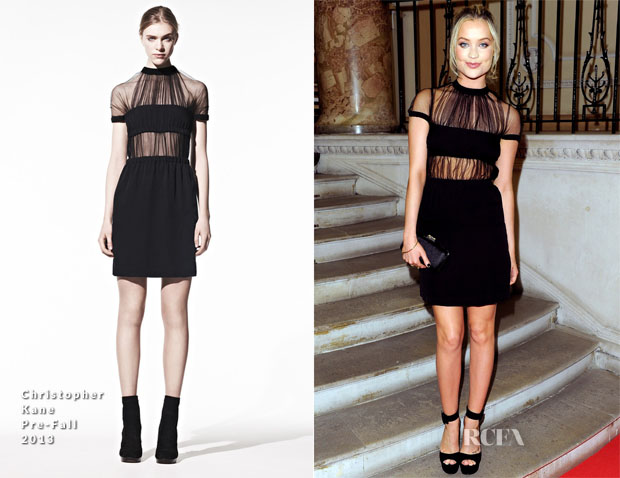 Laura Whitmore In Christopher Kane - Scottish Fashion Awards 2013