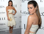 Lea Michele In Calvin Klein - ELLE's 20th Annual Women In Hollywood Celebration