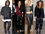Celebrities Love...Leather Jogging Pants