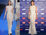 Li Bingbing In Elie Saab - 2013 Bazaar Stars Charity Night
