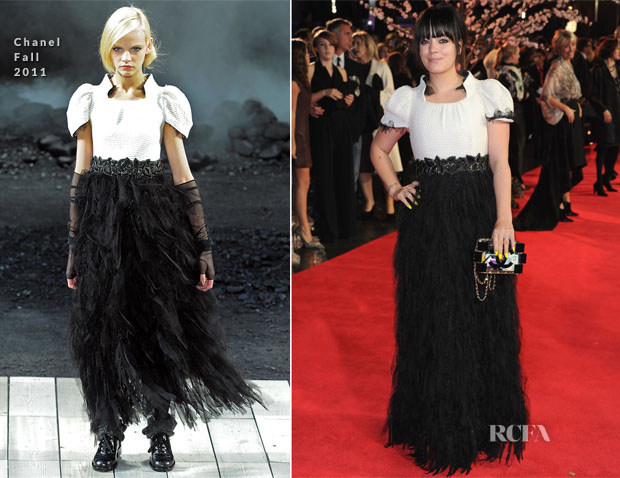 Lily Allen In Chanel - 'Saving Mr Banks' London Film Festival Closing Night Gala Premiere
