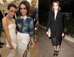 Lily Collins In Altuzarra - Vogue CFDA Fashion Fund Event & Dinner