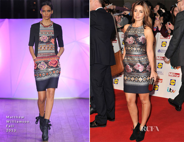 Louise Redknapp In Matthew Williamson - 2013 Pride of Britain Awards