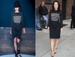 Lucy Liu In Band of Outsiders - Late Night with Letterman