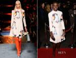 Lupita Nyong'o In Miu Miu - '12 Years A Slave' LA Premiere