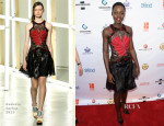 Lupita Nyong'o In Rodarte - '12 Years A Slave' New Orleans Film Festival Screening