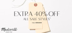 Madewell: Get An Extra 40% Off In The Sale