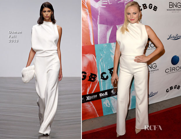 Malin Akerman In Osman - 'CBGB' LA Screening