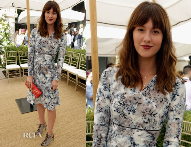 Mary Elizabeth Winstead In Roland Mouret - CFDA Vogue Fashion Fund Event