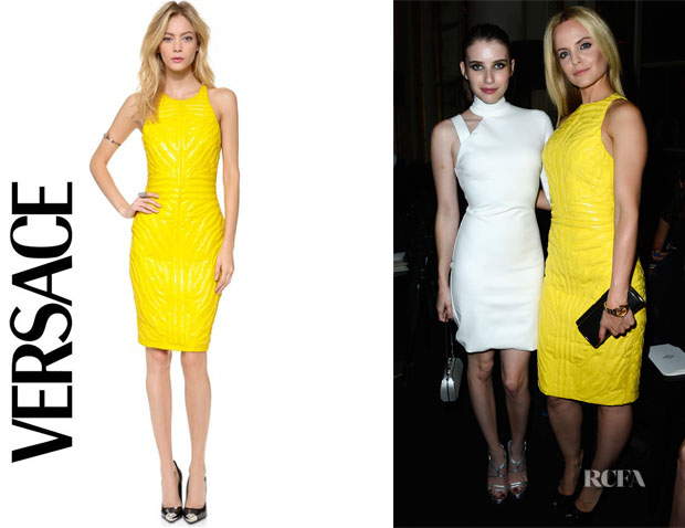 Mena Suvari's Versace Sleeveless Dress