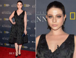 Michelle Trachtenberg In Oscar de la Renta - 'Killing Kennedy' World Premiere