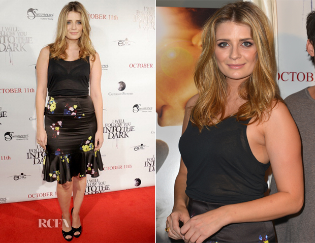 Mischa Barton In Erdem - 'I Will Follow You Into The Dark' LA Premiere