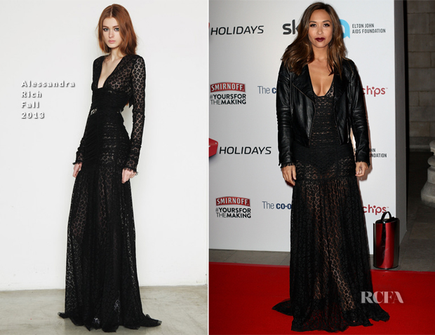 Myleene Klass In Alessandra Rich - Attitude Magazine Awards