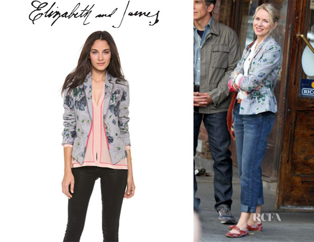 Naomi Watts' Elizabeth and James 'Bourne' Jacket
