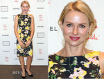 Naomi Watts In Erdem - 2013 'Take Home A Nude' Benefit Art Auction And Party