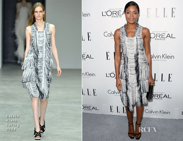 Naomie Harris In Calvin Klein - ELLE's 20th Annual Women In Hollywood Celebration