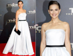 Natalie Portman In Christian Dior Couture - Thor: The Dark Kingdom' Berlin Premiere