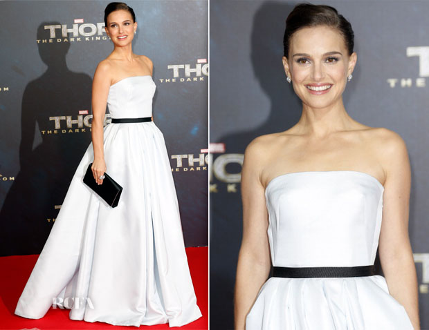 Natalie Portman In Christian Dior Couture - Thor The Dark Kingdom' Berlin Premiere