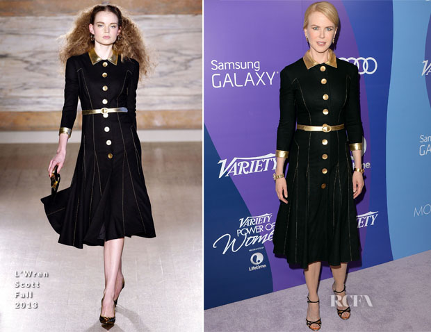 Nicole Kidman In L'Wren Scott - Variety's 5th Annual Power of Women Event