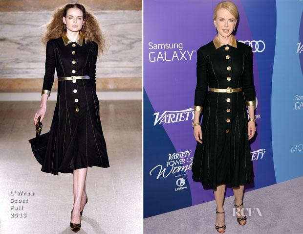 Nicole Kidman In L'Wren Scott - Variety's 5th Annual Power of Women Event