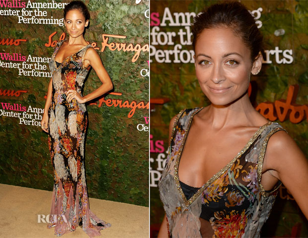 Nicole Richie In Dolce & Gabbana - Wallis Annenberg Center for the Performing Arts Inaugural Gala