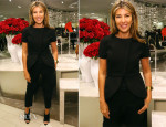 Nina Garcia In Balenciaga - Marie Claire's Shoes First Shopping Event At Saks Fifth Avenue